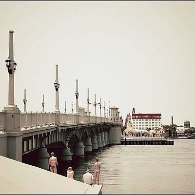 Sunday By The Bridge - Fl Poster