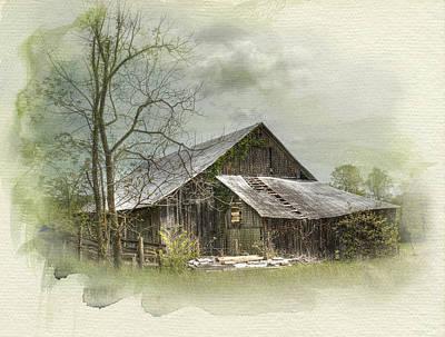 Sunday Drive Barn Poster