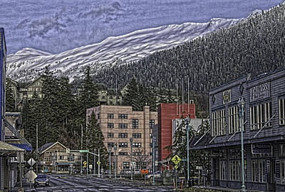 Sunday Morning In Ketchikan Poster by Timothy Latta