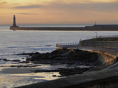 Poster featuring the photograph Sunderland Sunrise by Julia Wilcox