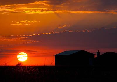 Sundown Poster by Mark Alder