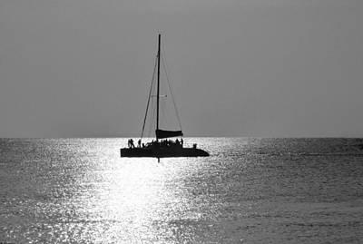 Sundown Sail Poster