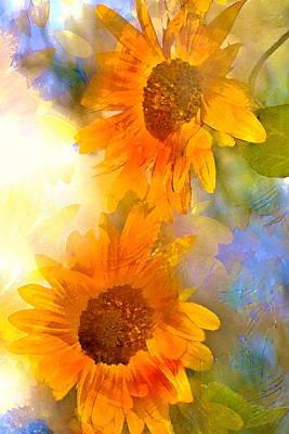 Sunflower 26 Poster by Pamela Cooper