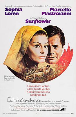 Sunflower, Aka I Girasoli, From Left Poster by Everett