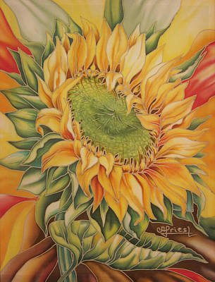 Sunflower Poster by Alena Priest