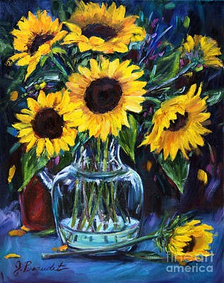 Sunflower Bouquet  Poster by Jennifer Beaudet