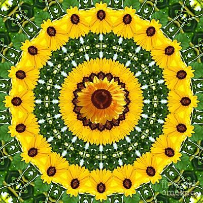 Sunflower Centerpiece Poster
