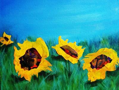 Sunflower Daze  Poster