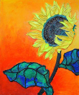 Sunflower Poster by Diane Fine