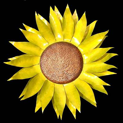 Sunflower Poster by Diane Snider