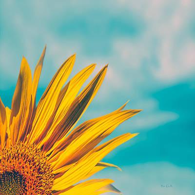 Sunflower In The Corner Poster by Bob Orsillo