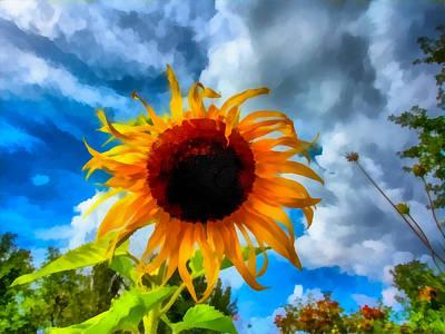 Sunflower Inspiration Poster