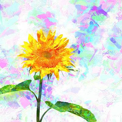 Sunflower Magic Poster by Bob Orsillo
