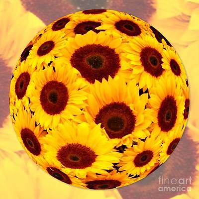 Sunflower Sunshine Poster