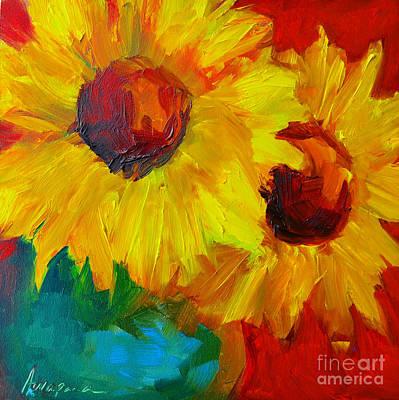 Joyful Floral Poster by Patricia Awapara