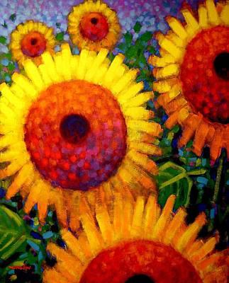 Sunflowers Poster by John  Nolan