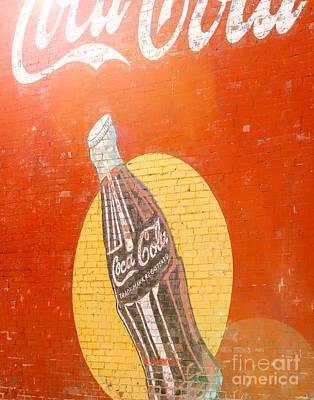Sunny Coca Cola Poster by Sonja Quintero