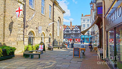 Sunny Day In Salisbury Poster