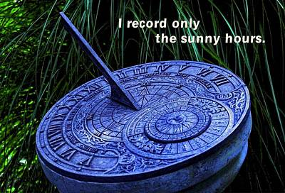Sunny Hours Poster by Mike Flynn