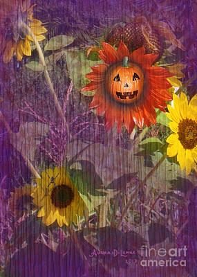 Sunny Pumpkin Poster