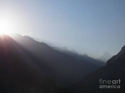 Sunrise Above Gangotri Poster