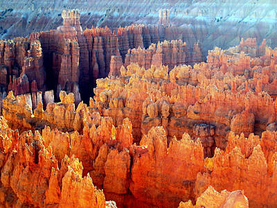 Sunrise At Bryce Canyon Poster
