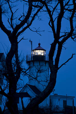 Sunrise At Eastern Point Lighthouse - Gloucester Ma Poster by Joann Vitali