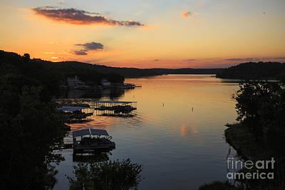 Sunrise At Lake Of The Ozarks Poster