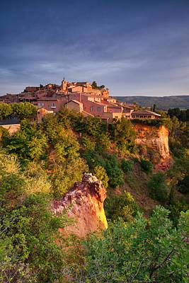Sunrise At Roussillon Poster