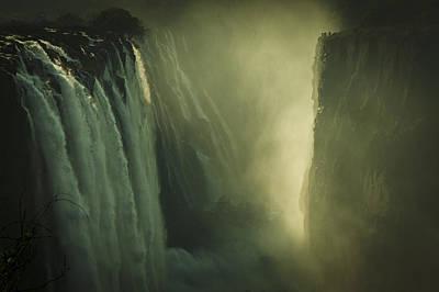 Sunrise At Victoria Falls Poster