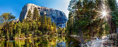 Sunrise At Yosemite Poster