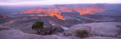 Sunrise, Deadhorse State Park, Utah, Usa Poster by Panoramic Images