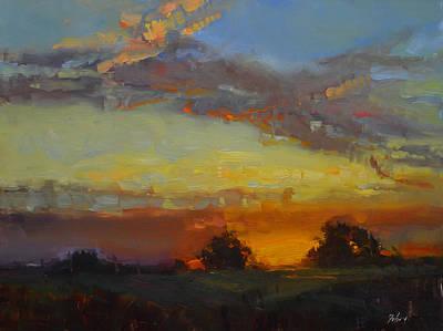 Sunrise Flame Poster by Kelli Folsom