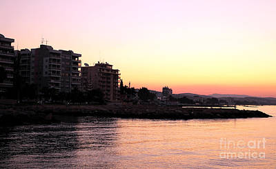 Sunrise In Cyprus Poster