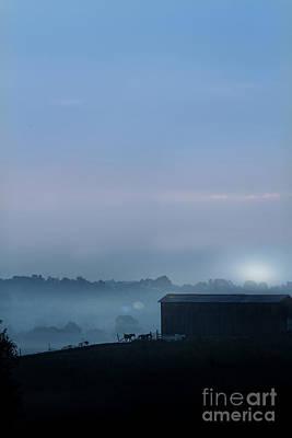 Sunrise In Kentucky Poster by Stephanie Frey