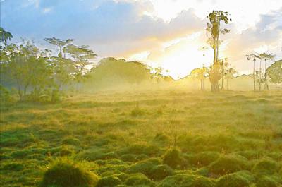 Sunrise In The Wilderness Poster by Anton Joseph