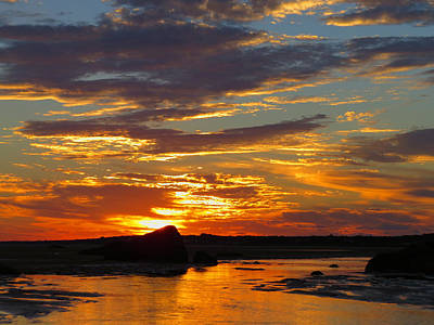 Poster featuring the photograph Sunrise Magic by Dianne Cowen