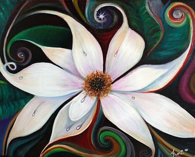 Sunrise Magnolias Poster by Averi Wolff