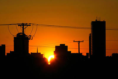 Sunrise -- My Columbia Seen Poster