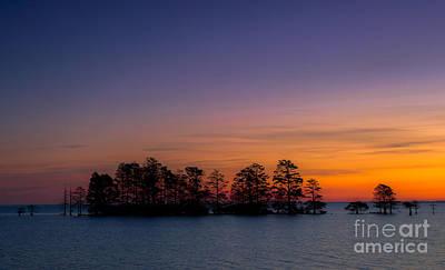 Sunrise On Lake Mattamuskeet Poster