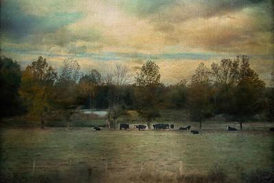 Sunrise On The Farm Poster by Jai Johnson