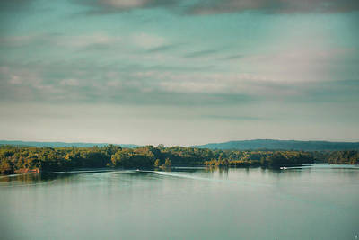 Sunrise On The River - Water Scene Poster
