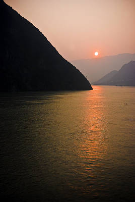 Sunrise On The Yangzi Poster