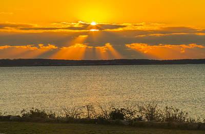 Sunrise Over Fairhaven Poster