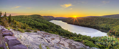 Sunrise Over Lake Of The Clouds Poster by Twenty Two North Photography