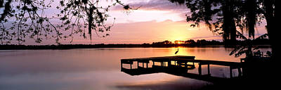 Sunrise Over Lake Whippoorwill Poster by Panoramic Images
