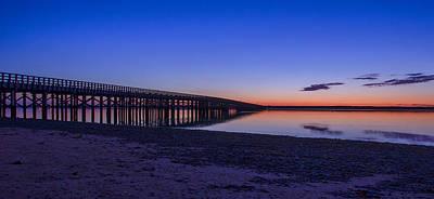 Sunrise Pier Poster
