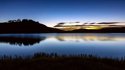 Sunrise - Pretty Valley Pondage Poster by Mark Lucey