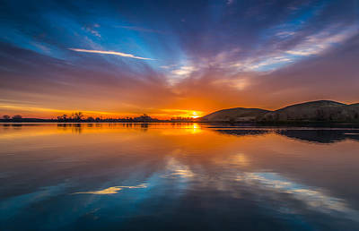 Sunrise Reflection Poster by Marc Crumpler