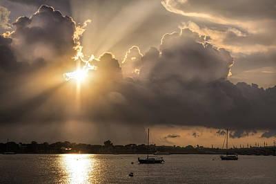 Sunrise St Augustine Bayfront Poster